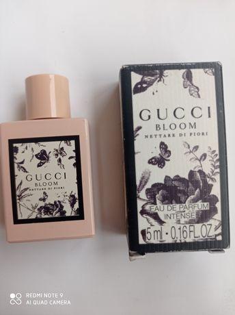 Парфюм Gucci Bloom nettare fiori,оригинал, миниатюра 5 мл. м.б.обмен