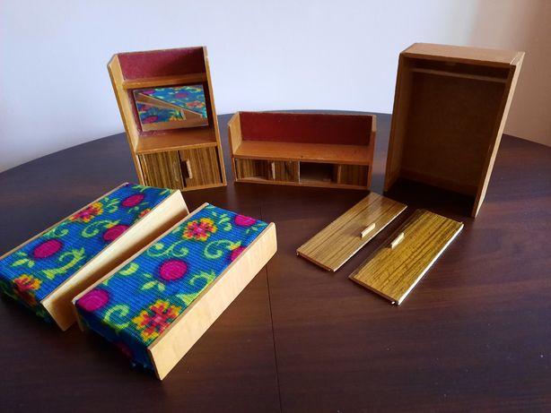 Мебель для кукол СССР деревянная. Кукольная мебель. Под  реставрацию.