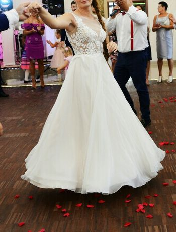 Suknia ślubna SABE model Fresia rozm. 38