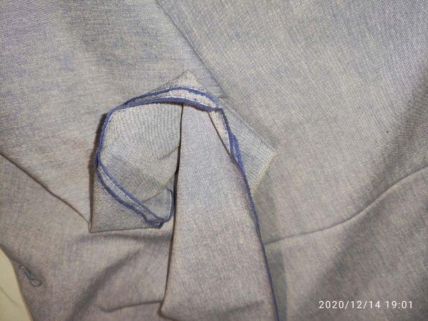 tkanina materiał płótno bawełna dżins jeans szary