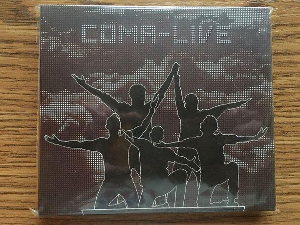 Coma Live 2CD folia 10/10