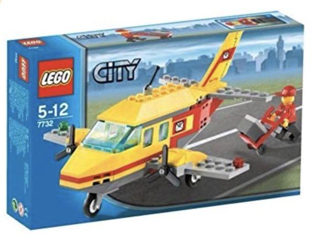 Конструктор Lego City 7732 Почтовый самолёт в идеальном состоянии