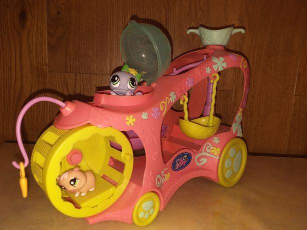 Littlest Pet Shop samochód