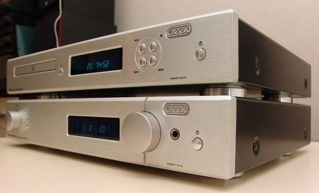 Усилитель CREEK EVO AMP и CD плеер CREEK EVO CD. Hi-End.