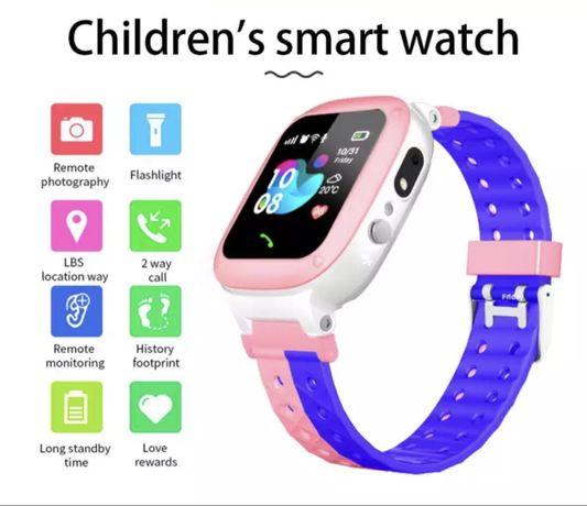 Smartwatch dla dzieci - lokalizator GPS, mozliwość sluchania dziecka