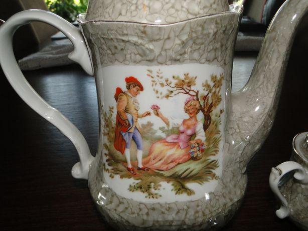 zestaw porcelanowy do kawy