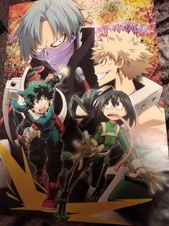 Plakaty z anime
