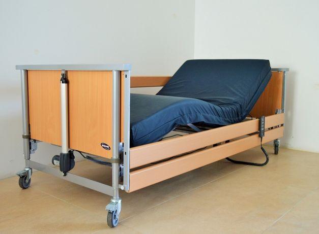 łóżko rehabilitacyjne z materacem i wysięgnikiem- DOSTĘPNE OD ZARAZ
