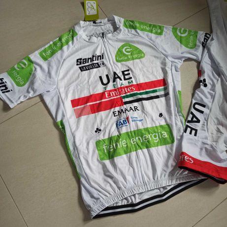 UEA Team Emirates koszulka + spodenki XL