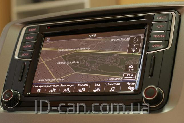 Оригинал радио VW Discover Media 5C0035680B GPS Навигация Bluetooth