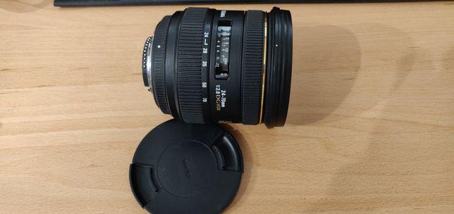 Na Sprzedaż Używany obiektyw Sigma 24-70 F2.8 IF EX DG HSM  NIKON