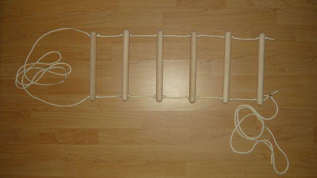 Drabinka przyłóżkowa rehabilitacyjna pomoc do podciągania do łóżka