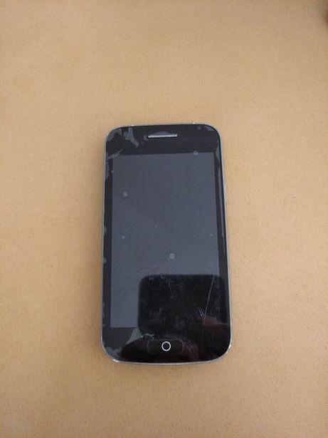 Uszkodzony telefon dotykowy  be