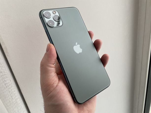 iPhone 11 Pro Max 64gb Midnight Green Neverlock #765