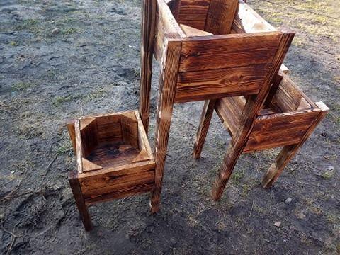 doniczka drewniana  zapraszam do składnia zamówień