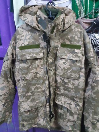 Бушлат зимний двойной куртка пиксельная мужская