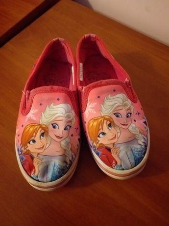 Buty 27 pantofle trampki