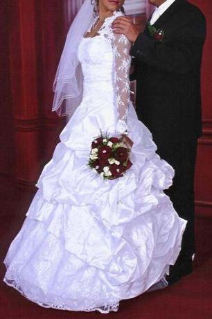 Suknia ślubna perełka