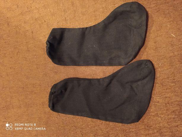 Сапожки из ткани детские для новогоднего костюма