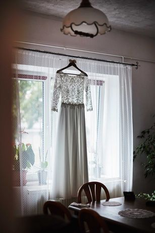 Suknia ślubna - styl rustykalny/boho