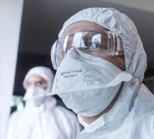 3M FFP2 Vflex 9152R maseczki medyczne wyprodukowana w UK