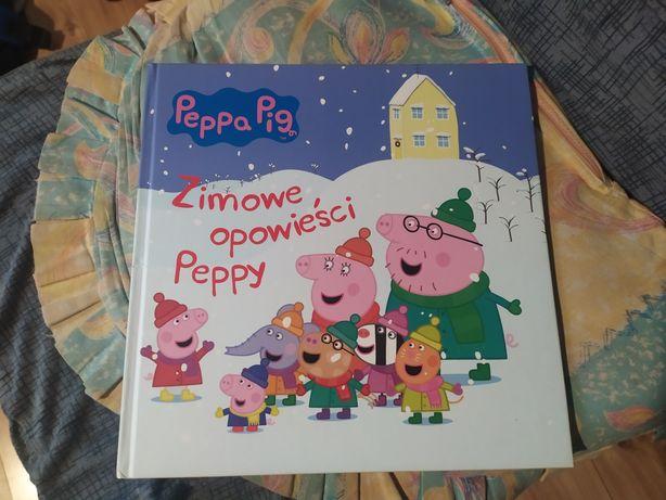 Książeczka Zimowe opowieści Peppy