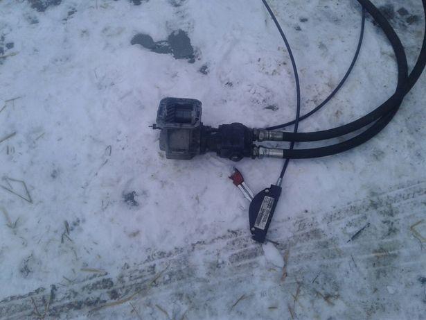 Pompa hydrauliczna+przystawka + zbiornik na olej
