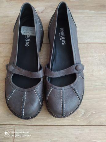 Skórzane buty Angelus rozm 37