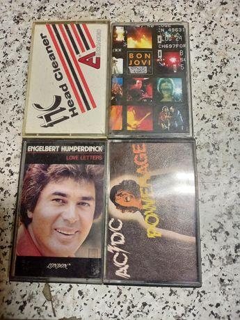 4 Cassetes antigas