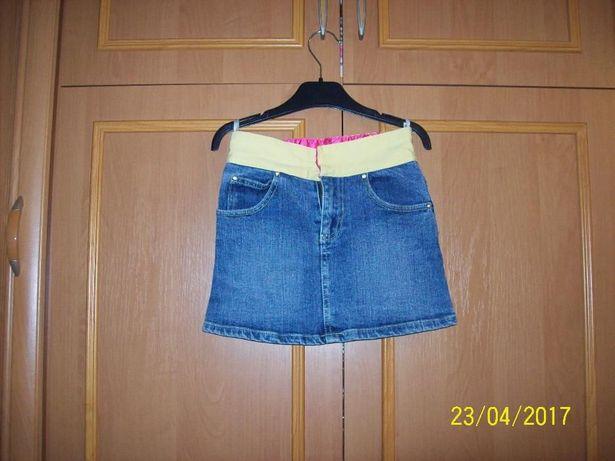 spódniczka jeansowa 128cm