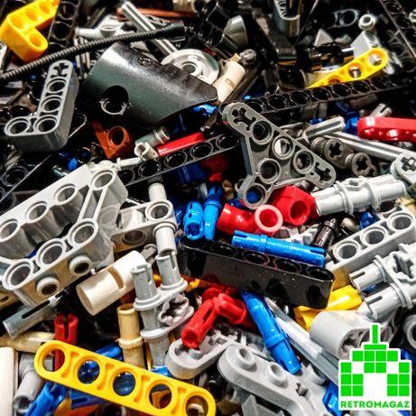 Lego Детали Technic Пластины Растения Стержни Колеса Емкости Скалы