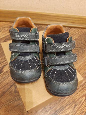 Демисезонные ботинки Geox 21 р. на мальчика