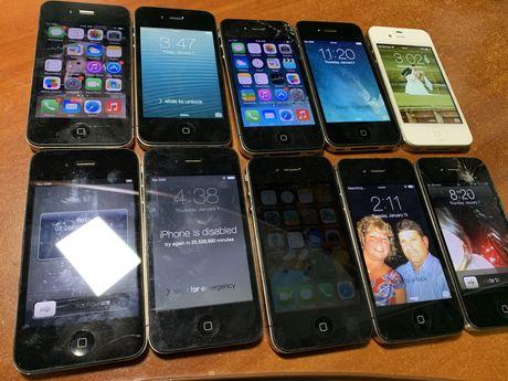 Apple iphone 4 лот 10 шт на запчасти
