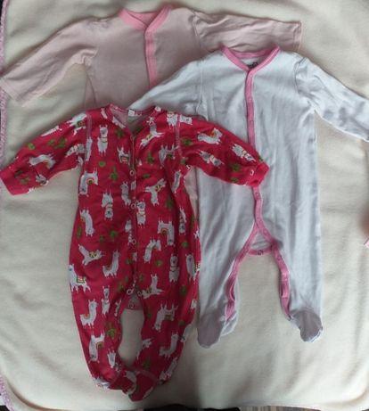 Pajace niemowlęce 3 sztuki