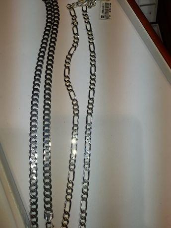 Łańcuszek naszyjnik srebrny 925 męski