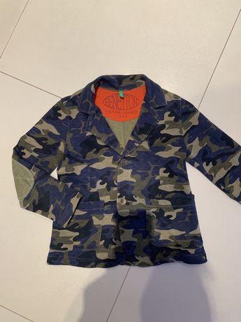 Пиджак школьный трикотажный