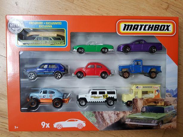 Matchbox 9 PAK UNIKAT samochodziki auta resoraki NOWE - super cena