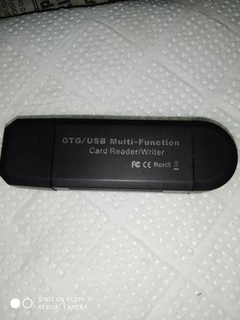 Переходник USB+ картридер.