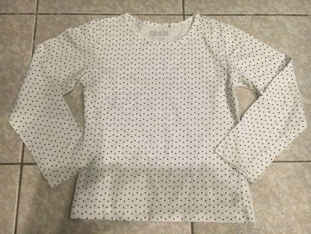 Bluzeczka w kropeczki dla dziewczynki