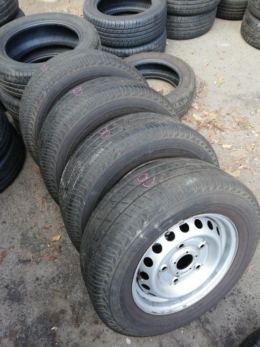 Koła letnie opony 215/65R15C Felgi ET60 5x160 Ford Transit Custom Wolsztyn - image 1