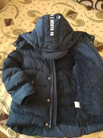 Продам зимнюю ,очень теплую курточку для вашего мальчика