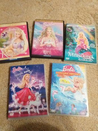 Barbie bajki dvd