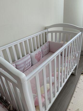 СРОЧНО! Детская кроватка Veres с матрасом и бортиками