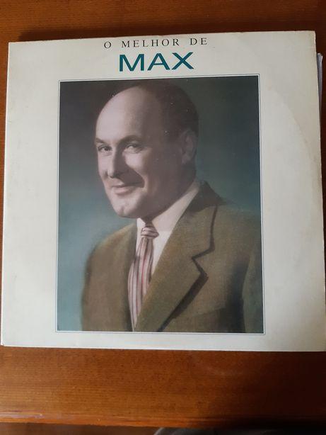 """Disco de vinil """"O Melhor de Max"""""""