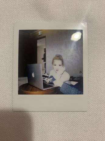 Polaroid Rose Blackpink kpop
