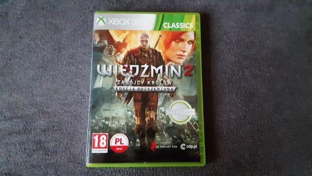 Gra Wiedźmin 2 Zabójcy królów edycja rozszerzona XBOX 360