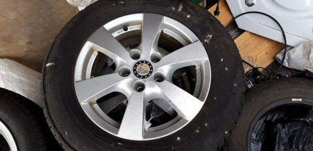 Opony Zimowe 215/65/R16 do Tiguan VW wraz z Alufelgami
