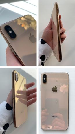 iPhone XS Max 64 Gb Gold Dual SIM Neverlock