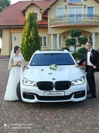 Samochód do ślubu- BMW serii 7