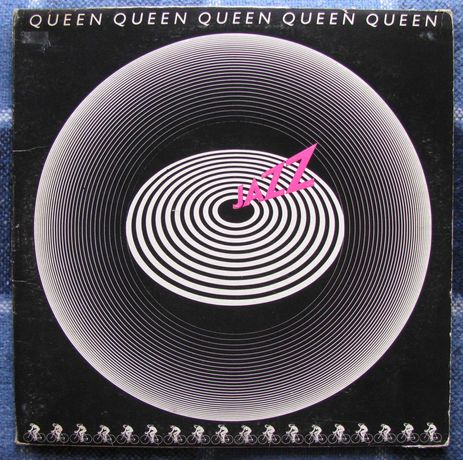 Платівка Queen - JAZZ (LP, UK 1st Press, VG//VG-a/NM-b)